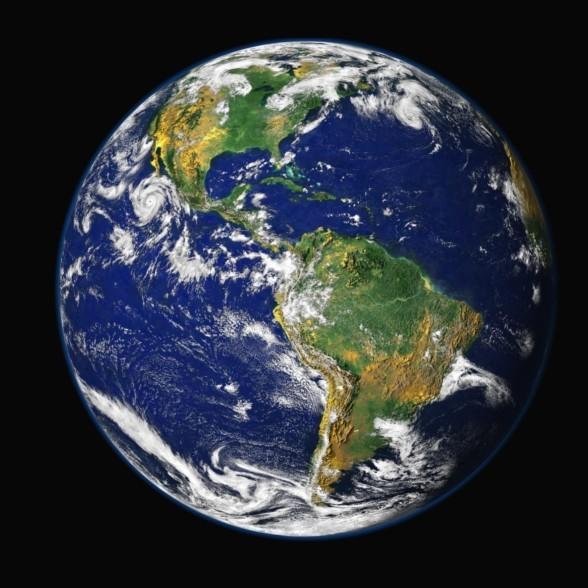 Immagine satellitare della Terra. Il progetto Habit@ pone l