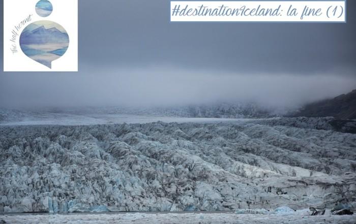 Fotografia scattata da the Half Hermit a Fjallsárlón, una delle lingue del ghiacciaio islandese Vatnajökull: la fine del viaggio arriva con il ritorno all'Islanda invernale.