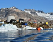 Boat trips are the only way to move from Tasiilaq if you want to go looking for other villages, whales and glacier fronts.